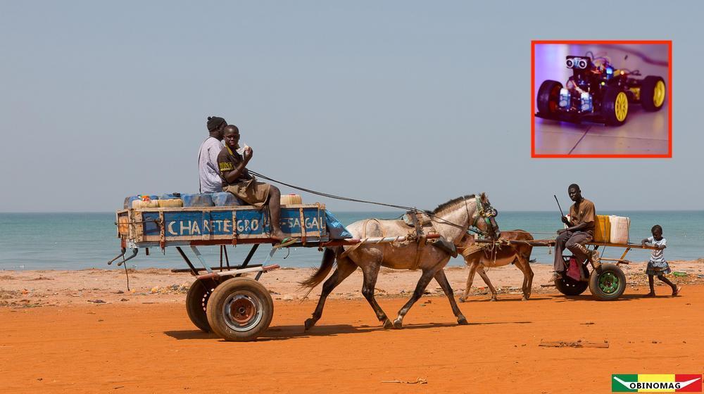 Sénégal- Une startup veut équiper les charrettes de feux de signalisation moderne grâce à l'IA – Social Net Link