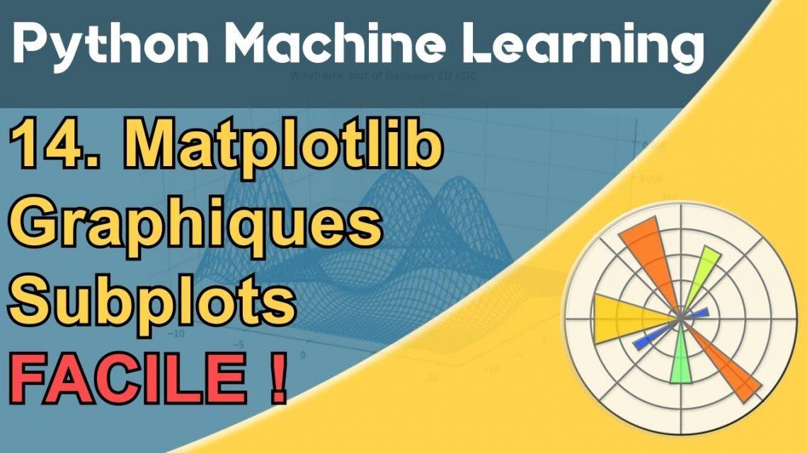 Formation Python – Machine Learning 14/30 : Matplotlib facile – Actu IA – Intelligence artificielle – Actu IA