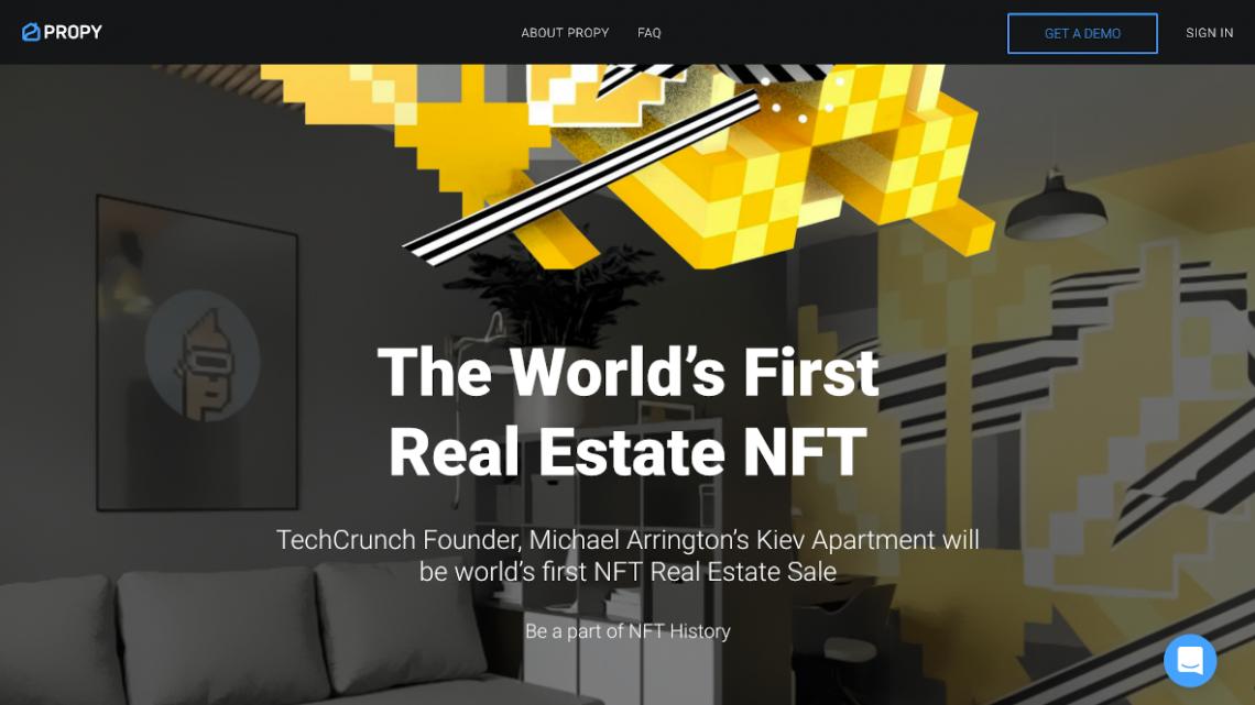 La startup Propy, spécialisée dans la technologie blockchain va mettre aux enchères le premier appartement réel via les NFT – Immobilier 2.0 – Immobilier 2.0